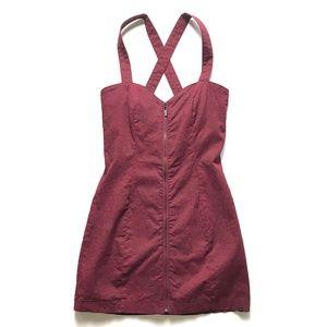 🦊 Insight Leopard Print Mini Dress Size 4 :071